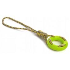 Sznur do aportowania z ringiem zielony 45997-1 zabawka dla psa
