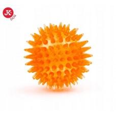 Jk led tpr piłka kolce 6,5 cm żółta 45908-2