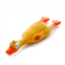 Jk zabawka lateks kaczka 23 cm 46828 zabawka dla psa