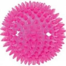 Jk led piłka kolce 5,5 cm różowa 45907-3