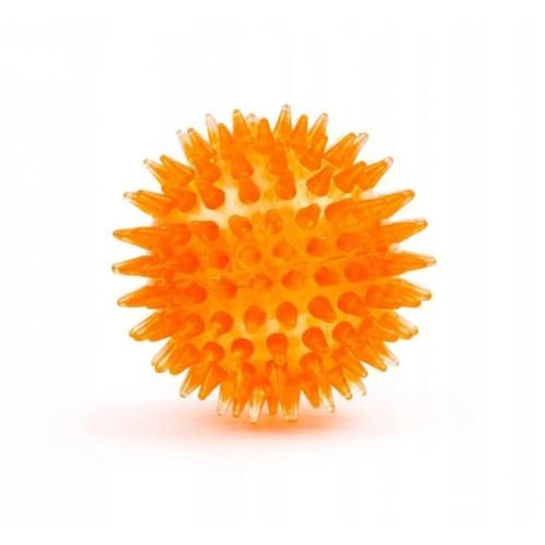 Jk led piłka kolce 5,5 cm żółta 45907-2
