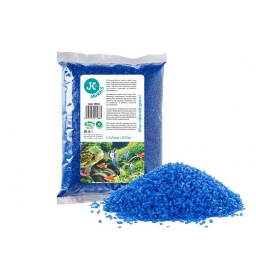 Żwirek do akwarium jk niebieski 18540 0,5kg
