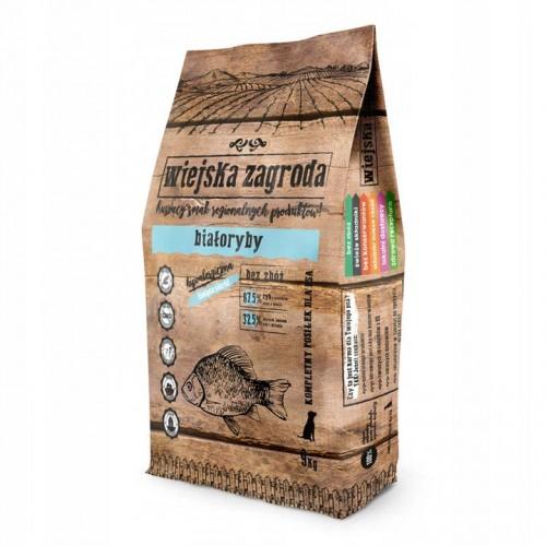 Alpha spirit wiejska zagroda białoryby 9 kg sucha karma dla psa