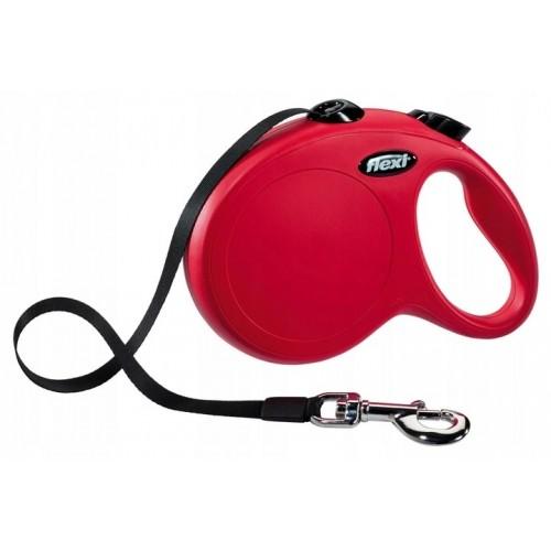 Flexi new classic taśma l  8 m 50 kg czerwona