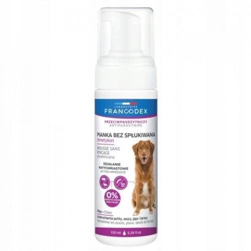 Francodex pianka bez spłukiwania przeciwpchelna pies 150 ml dimetikon