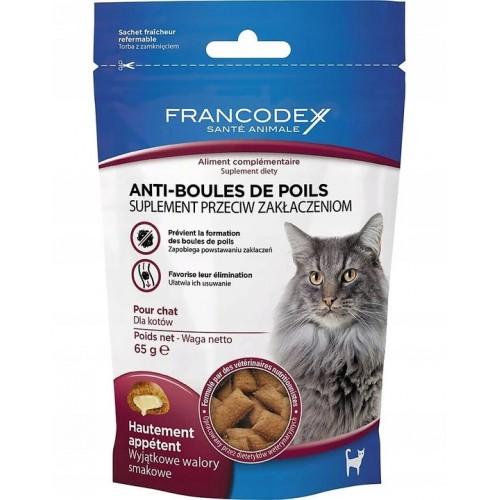 Francodex przysmaki odkłaczające dla kota 65 g