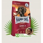 Happy dog africa sensible struś ziemniaki 4 kg