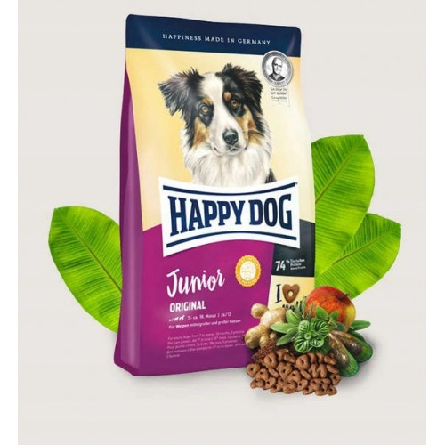 Happy dog junior jagnięcina z ryżem 10 kg