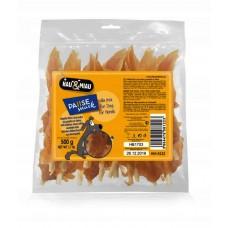 Przysmaki hau i miau filet kurczak na patyku 500 g