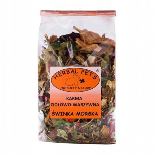 Herbal karma ziołowo-warzywna świnka 150g - zioła dla świnki morskiej