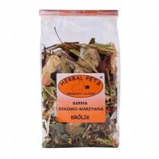 Herbal karma ziołowo-warzywna królik 150g zioła dla królika,