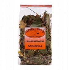 Herbal zioła podstawowe dla szynszyla 100g