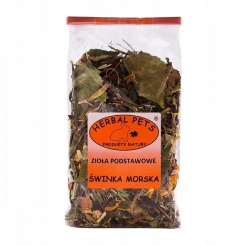 Herbal zioła podstawowe dla świnki morskiej 100g
