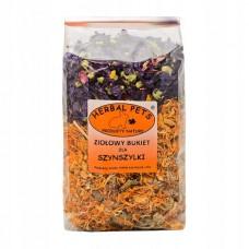 Herbal ziołowy bukiet dla szynszyli 100g - zioła dla szynszyla