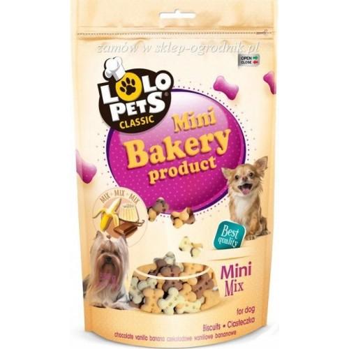Lolo pets ciastka mini mix ban/czek/wan folia 350