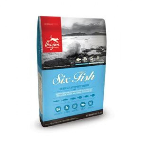 Orijen six fish dog 11.4 kg