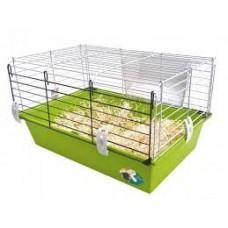 Klatkadla świnki morskiej Cavie 60 zielona/fuksja| Klatka dla chomika, królika