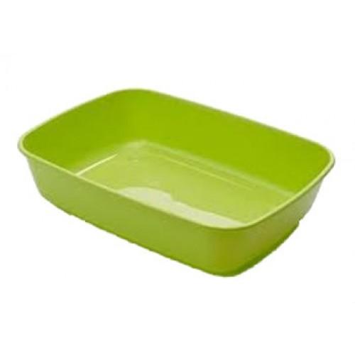 Kuweta dla kota iriz zielona 42x30,5x10cm bez ramki