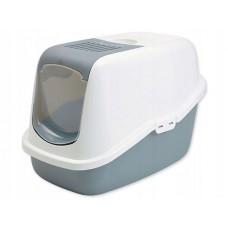 Toaleta dla kota nestor szara 56x39x38,5 cm kuweta