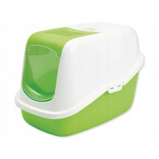 Toaleta dla kota nestor zielona 56x39x38,5 cm kuweta