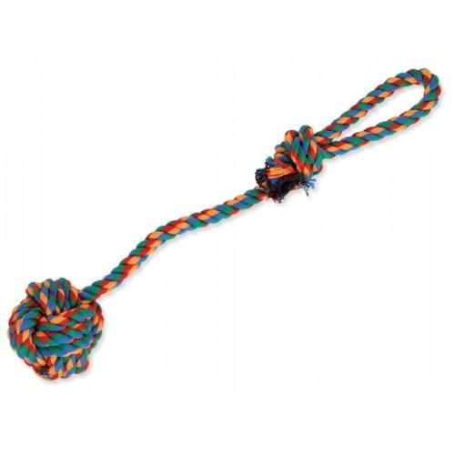 Zabawka dla psa -piłka ze sznura z uchwytem 35cm 124-10183