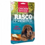 Rasco chicken with bone 80g karma dla psa, przysmak
