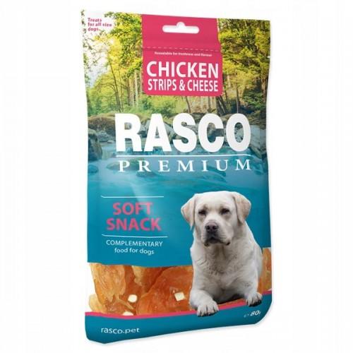 Rasco chicken strips&cheese 80g karma dla psa