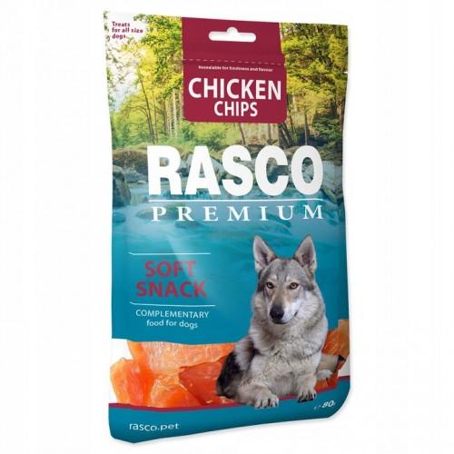 Rasco chicken chips 80g karma dla psa