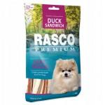 Rasco duck sandwich 80g  karma dla psa, przysmak