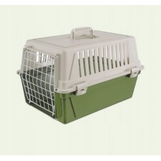Transporter atlas 10 zielono/czarny dla psa, chomika, królika lub kota