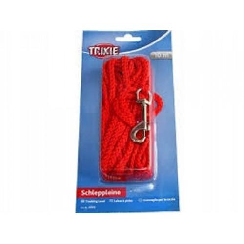 Trixie smycz linka 10 m czerwona 19763