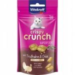Vitakraft crispy crunch indyk/chia 39316 - przysmak dla kota