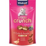 Vitakraft crispy crunch kaczka/aronia 39315 - przysmak dla kota
