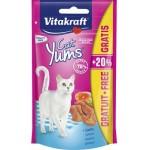 Vitakraft cat yums z łosośiem przysmak dla kota 36726