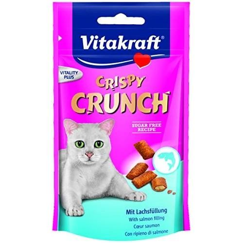 Vitakraft crispi crunch łosoś 28815 - przysmak dla kota
