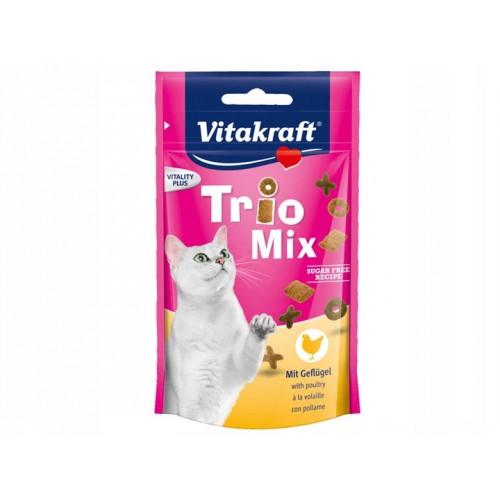 Vitakraft trio mix kurczak 28816 - przysmak dla kota