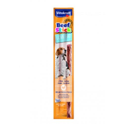 Vitakraft beef stick low fat indyk 28804 - przysmak dla psa
