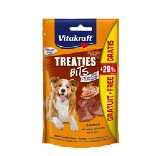 Vitakraft treaties bits z wątróbką 36720- przekąska dla psa
