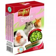 Vitapol dropsy warzywne 75 g dla świnki morskiej, chomika, królika