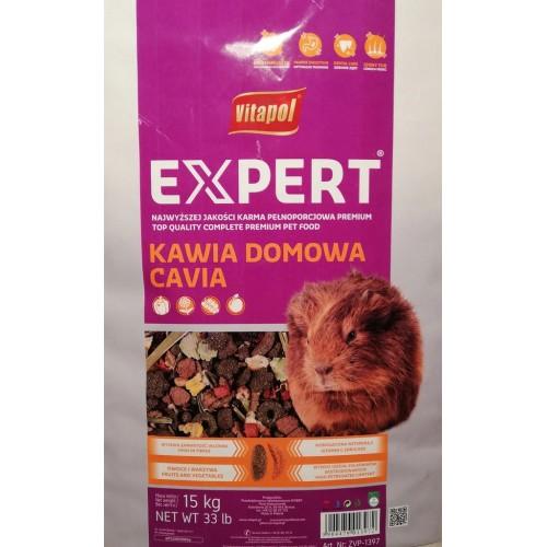 Vitapol karma dla świnki morskiej expert 15 kg zvp 1397