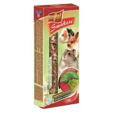 Vitapol smakers dla gryzoni warzywny - przysmak dla chomika, świnki morskiej, królika zvp 1108