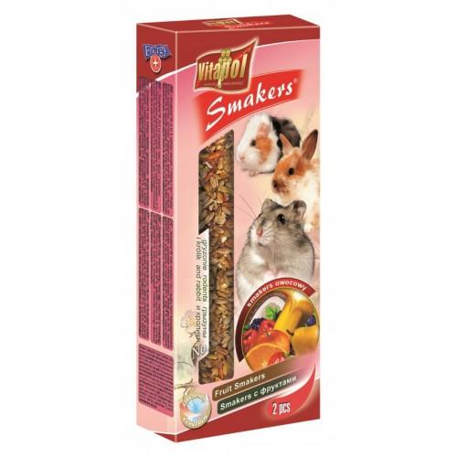 Vitapol smakers dla gryzonia owocowy - przysmak dla chomika, świnki, królika zvp 1107