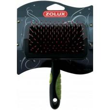 Zolux zgrzebło szczotka plastikowe średnie 470-714