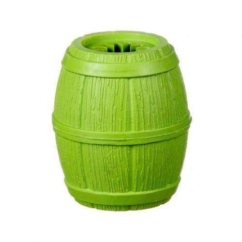 Barry king beczka na przysmaki zielona - zabawka dla psa