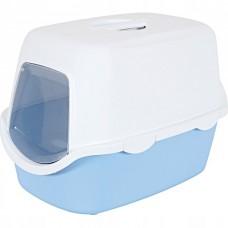 Zolux toaleta dla kota cathy błękitna 97585