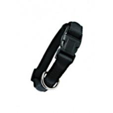 Zolux obroża taśma cushion 15mm 541115 czarna