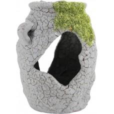 Zolux dekoracja akwarium waza z mchem etna s355577
