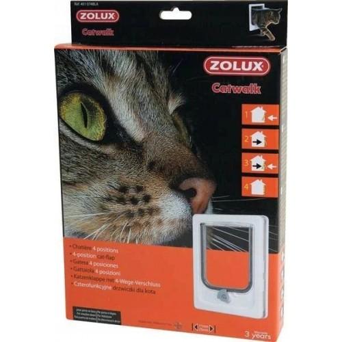 Zolux drzwiczki dla kota białe 401 074