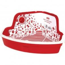 Kuweta dla gryzoni narożna Zolux S czerwona 206 540