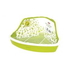 Zolux kuweta narożna gryzon s zielona 206 541